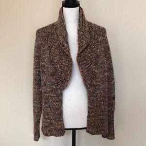 Talbots Open Cardigan Sweater Size L/P